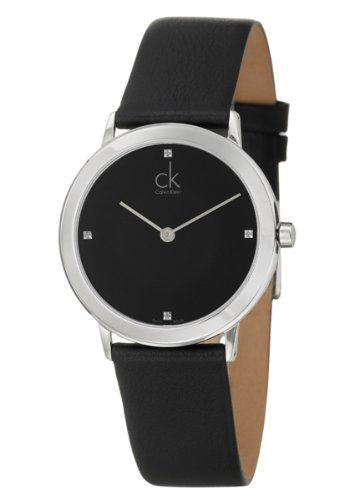 Calvin Klein Calvin Klein Minimal K0351102 - Reloj para Hombres, Correa de Cuero Color Negro