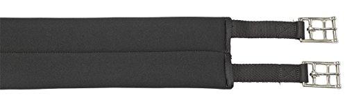BUSSE Sattelgurt SOFT-LONG, 135 cm, schwarz