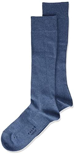 FALKE Unisex Kinder Family K KH Socken, Blau (Light Denim 6660), 35-38 (9-12 Jahre)
