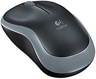 Logitech M185 Swift Grey Wireless Mouse