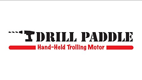 DRILL PADDLE — Replaces Trolling Motor for Emergency Backup