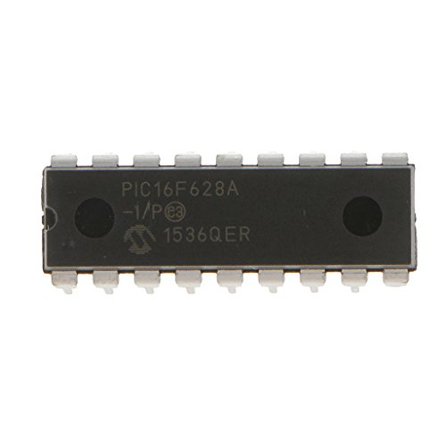 H HILABEE 1 Teiliger Mikrochip PIC16F628A I/P PIC16F628 20 MHz Geschwindigkeit