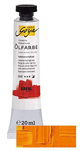 KREUL Peinture à l'huile des plus fines, jaune indien imit.,