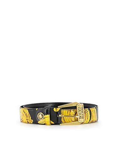 Versace JEANS COUTURE NERA CON STAMPA BAROQUE D8VVBF0971494 85