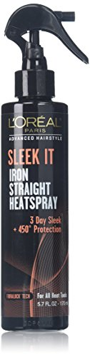Price comparison product image L'Oréal Paris Advanced Hairstyle SLEEK IT Iron Straight Heatspray,  5.7 fl. oz.