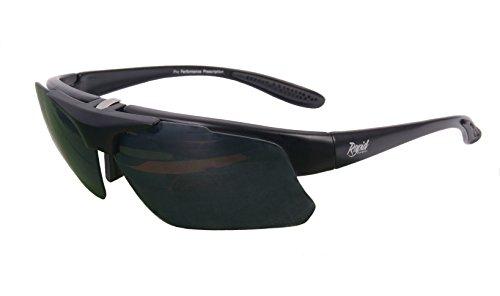 Rapid Eyewear Uomo & Donna PRO Performance RX Occhiali da Sole Vista montature per Sport. Frame for Lenti Graduate. per Ciclismo, Pesca, tiro ECC.
