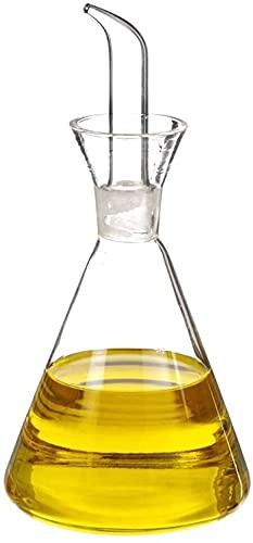 TIENDA EURASIA Aceitera Antigoteo Cristal - Aceitera para cocina clásica (500ML)
