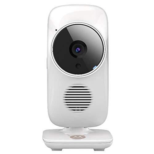 Motorola Baby MBP 67 Connect Video Babyphone , Weiße WI-FI Baby Überwachungskamera , 2-Wege-Kommunikation durch integrierte Gegensprechfunktion