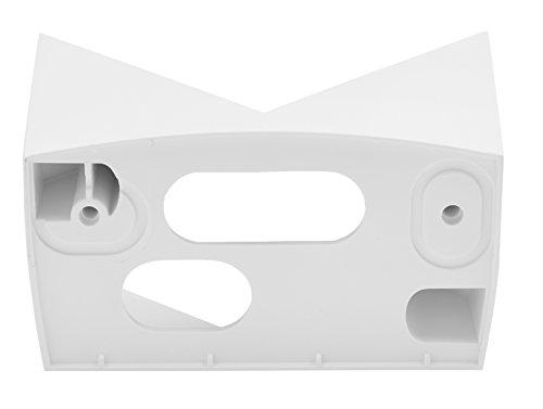 Steinel Eckwandhalter EWH 07 weiß, für Infrarot-Bewegungsmelder IS 140-2, Adapter für schnelle die Montage an Außenecken