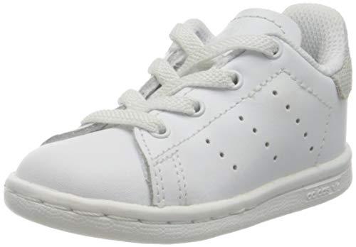 Adidas Stan Smith El I, Zapatillas de Estar por casa Bebé Unisex, Blanco (Ftwbla/Ftwbla/Ftwbla 000), 21 EU