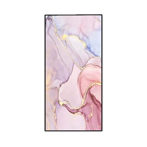 sochampion Toalla De Playa Cuadrada con Estampado De Mármol Dorado Toalla De Lana para Hombres Y Mujeres Toalla De Baño De Microfibra De Lana De Doble Cara Mármol (Rosa) 80cm X 160cm(Double-Sided)