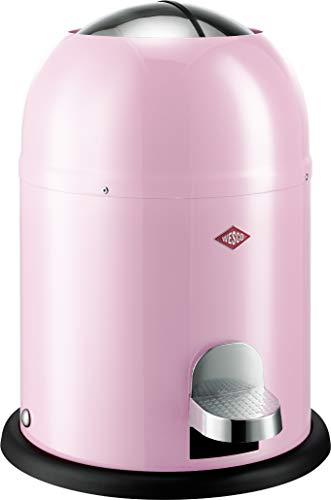 Wesco 180 212 Single Master Abfallsammler 9 Liter pink