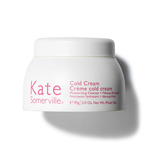 Kate Somerville Cold Cream Moisturizing Cleanser + Makeup Remover (3.0 Oz.) Lightweight Facial Cleanser to Remove Dirt, Oil, and Stubborn Makeup While Moisturizing Skin