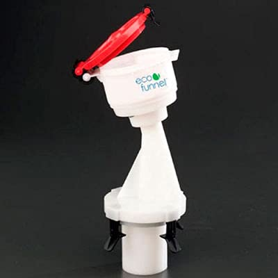 ECO Funnel EF-4-Justrite-B 4' ECO Funnel, For Justrite Safety Cans, Red Lid