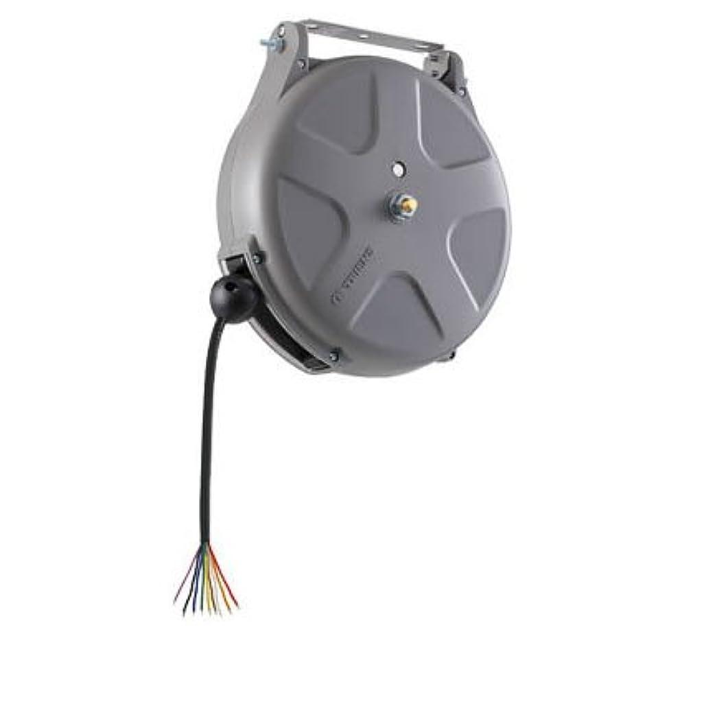 ブラウン舌なブースト三協リール 無接点制御リール 24V/0.5A 8m 9芯無接点 SNS-908A