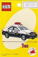 トミカ アイロン接着刺しゅうワッペン クラウンパトロールカー 60940