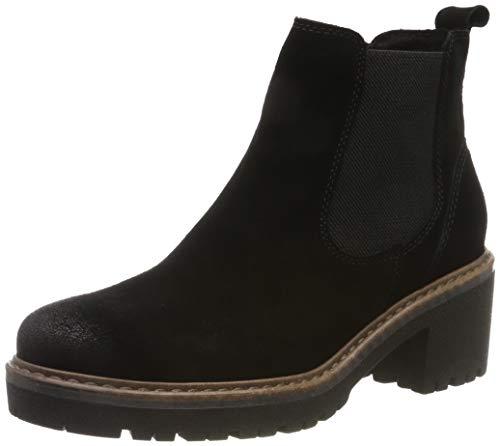 MARCO TOZZI Damen 2-2-25831-23 Chelsea Boots, Schwarz (Black Comb 098), 38 EU