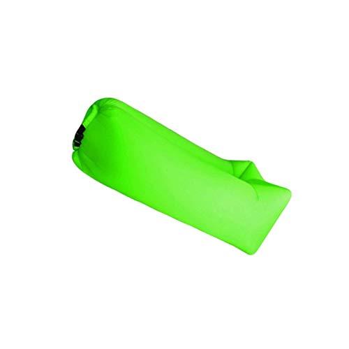 BANGSUN Colchón hinchable de aire para acampar al aire libre, playa, picnic, almohada verde