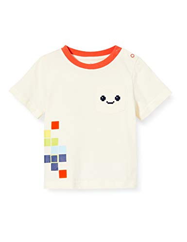 Lucy & Sam Baby wit Pixel Madness T-shirt