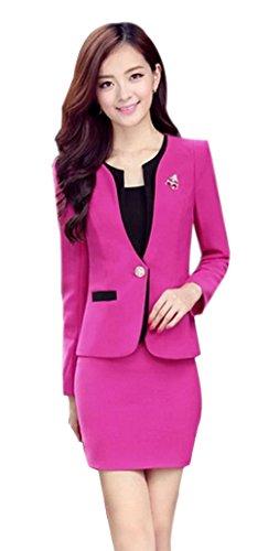 Yinxiang Liying Dames aantrekkelijk slank zakelijk pak rok jurk blazer combinaties