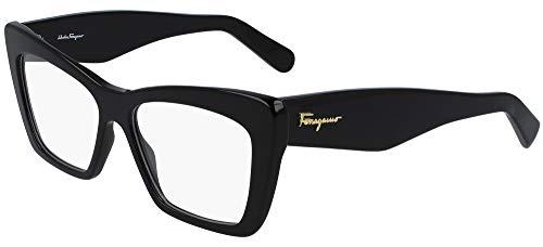 SALVATORE FERRAGAMO Gafas de Vista SF2865 Black 55/15/145 mujer