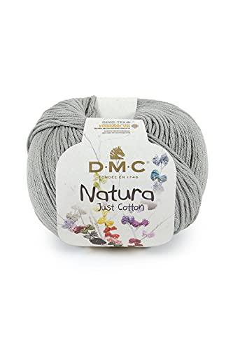 DMC - Fil Natura - Pelote de fil à tricoter et à crocheter | 100% coton - Idéal pour déco et vêtements | 50 g- 155 m | 65 coloris