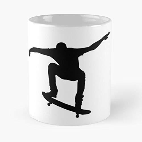 Skate Image Blackwhite Classic Mug