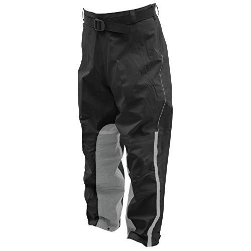 FROGG TOGGS Men's ToadSkinz Reflective Waterproof Rain Pant, Black/Silver, XX-Large