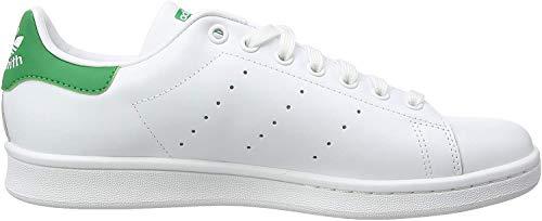 Adidas Originals Stan Smith, Sneaker Unisex – Adulto, Bianco (Running White Ftw/Running...