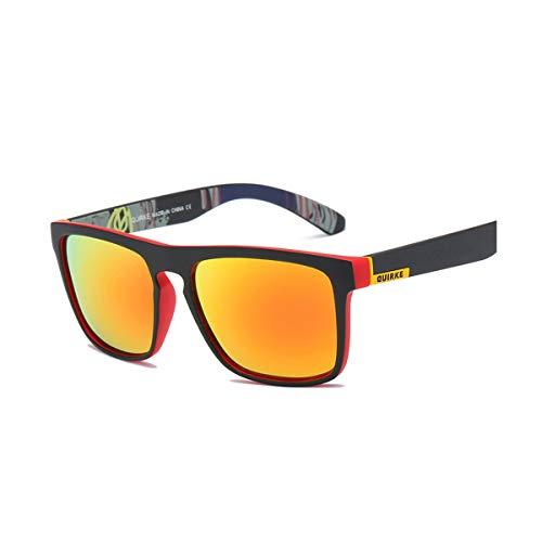 Hengtaichang Sunglasses Sunglasses Men Polarized Women Square Sun Glasses NEW Male Female Driving Sunglasses Retro Cheap Luxury Brand Designer Red