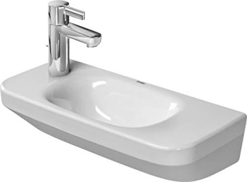 Duravit DuraStyle Handwaschbecken, 50cm ohne Hahnloch 500 x 220mm, weiß 0713500000