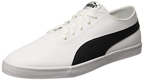 Puma Unisex-Erwachsene Urban SL Sneaker, White Black, 37 EU