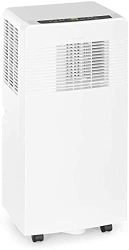 KLARSTEIN Iceblock EcoSmart - Climatiseur mobile, 9.000BTU/ 2600W, Refroidissement, Déshumidification, Ventilation, WiFi: contrôle via app, Taille de la pièce: 26 à 44m² - Blanc