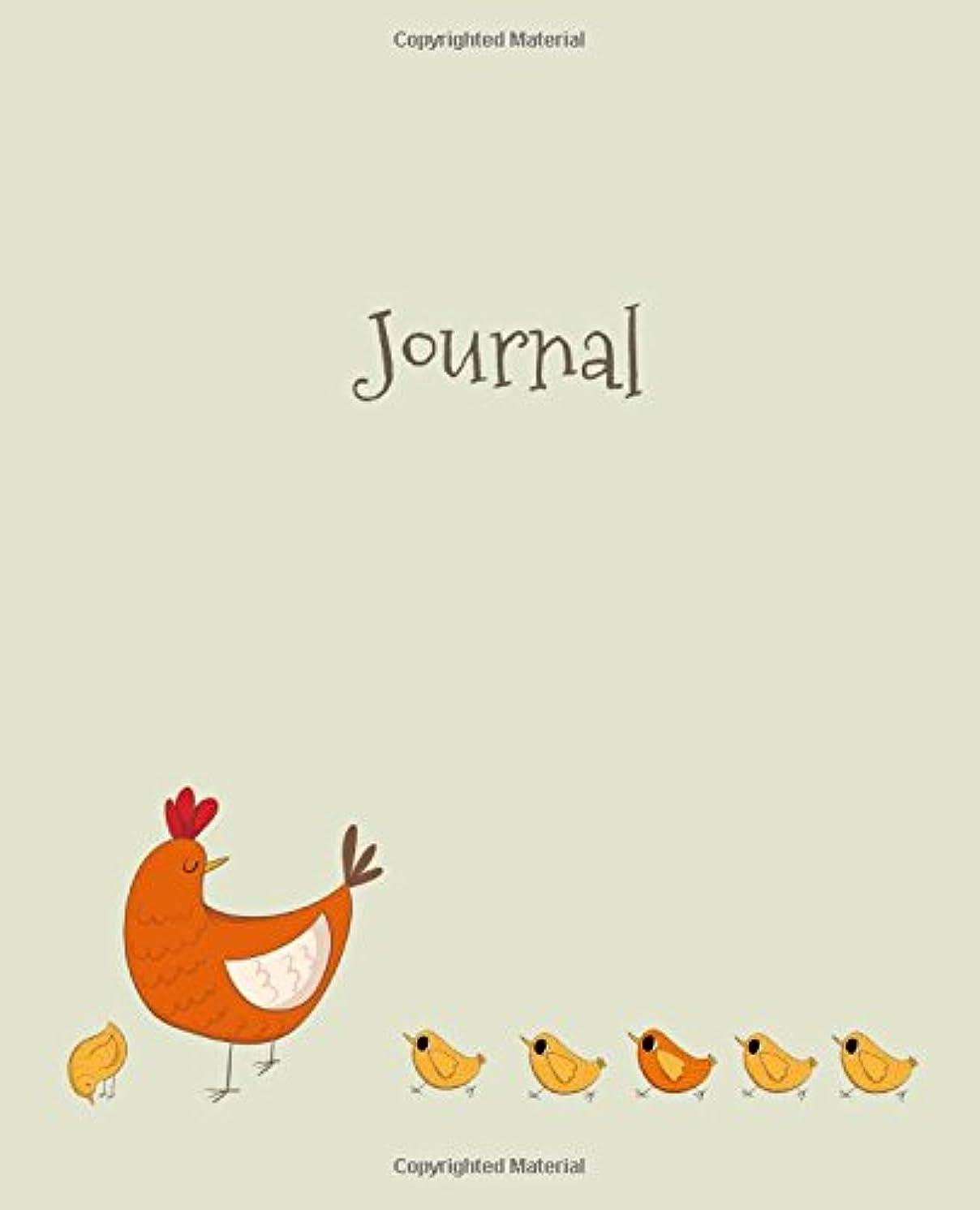 壁紙ペック歴史家Journal: Hen and Chicks (Funky Chicken Collection)