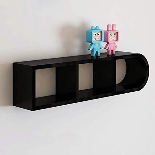 Witte, drijvende rekken voor de speelkamer van de kinderkamer – kleur MDF Picture Ledge Shelf – kinderkamerrek, wandplank, wandrek, decoratief rek, 200 cm (kleur: C) Vistoso