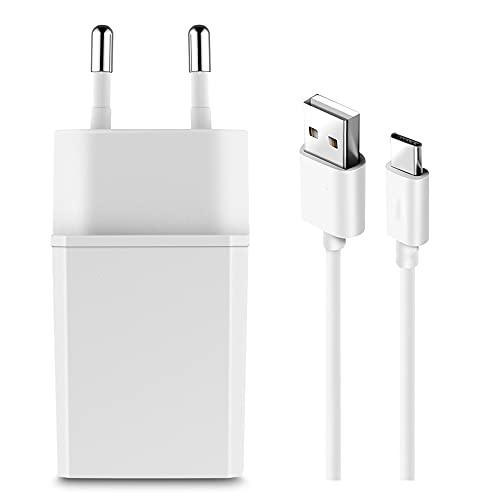 TELEFONMAX für Huawei ladegerät Netzteil 2A Daten Ladekabel USB C Huawei Mate 30 Mate 20 Mate 20 Pro Mate 10 P40 P30 P30 Lite P30 Pro P20 P20 Lite P20 Pro P10 P10 Plus P9 P9 Plus Honor 20 10 8