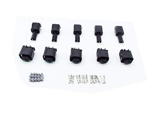 Cnkf 5/set 6/pin a Tyco pedale acceleratore per Benz BMW 1/ /7/M0/973/119/farfalla valvola sensore connettore /1/ /967616/