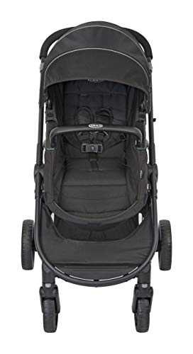 Graco Transform 2-in-1 Pushchair/Stroller (Birth to 4 Years Approx, 0-22 kg), Converts from Pramette to Pushchair, Black Graco Suitable from birth to approx. 4 years (22kg) Convertible pramette to pushchair in a flash. includes a comfy soft new-born liner for the first journey Click connect travel system compatible with graco snug ride/snug essentials i-size infant car seats 6