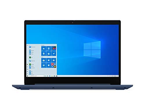 "Lenovo Ideapad 3 15.6"" FHD Laptop Computer/ AMD Ryzen 5 3500U Quad-Core Up to 3.7GHz (Beats I7-7500U)/ 8GB DDR4/ 256GB PCIe SSD/ Online Class Ready/ Blue/ Webcam/ Windows 10/ BROAGE 64GB Flash Drive"