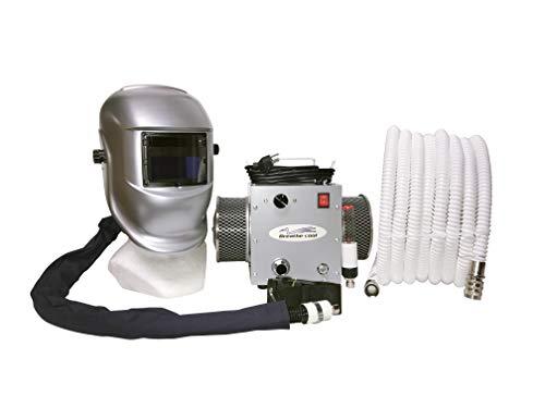 Breathe-Cool II Supplied air respirator w/auto darkening welding helmet