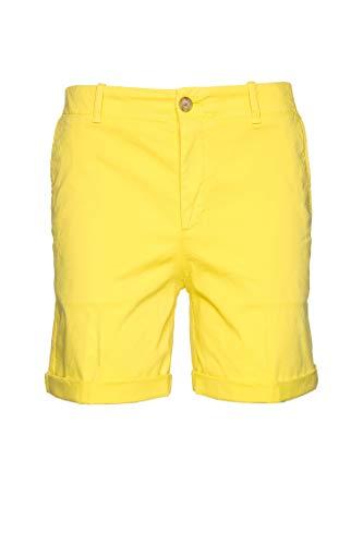 Boss Casual Saclea-D - Pantalones cortos para mujer Amarillo (730). 38