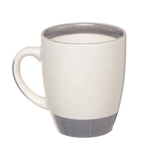 Vidal Regalos Mug Ceramica 360 ml cm Gris