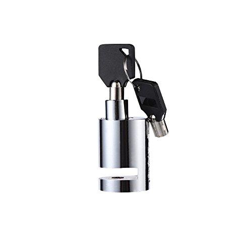 VGEBY Bremsscheibenschloss, Mini Anti-Diebstahl Motorrad Sicherheitsscheiben Radschloss mit 2 Schlüsseln für Fahrrad Motorrad Roller