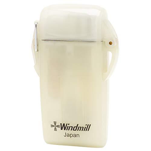 WINDMILL(ウインドミル)ライタークリア蓄光ビープ9ターボ防水耐風仕様BE9U-0005高さ66×幅42×厚さ17mm