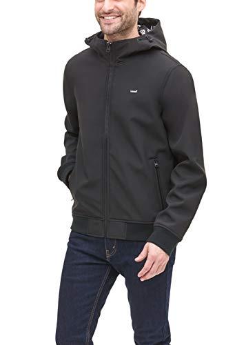 Levi's Herren Soft Active Hoody Bomber Jacket Shell-Jacke, schwarz, Large