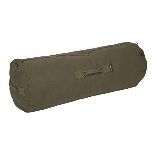 Stansport Deluxe Duffel Bag w/Zipper, Olive Drab, (1230) , 36' H x 21' W