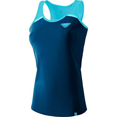 Dynafit Alpine Pro W Tank Débardeur pour Femme, Femme, t-Shirt sans Manches, 08-0000070967, Turquoise (Silvretta 8960), 46