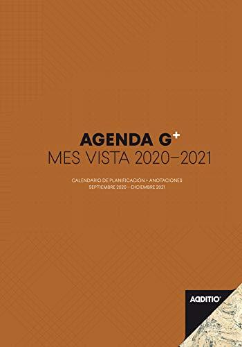 Additio P182-P - Agenda G Plus 2020-2021 mes vista + anotaciones para el profesorado