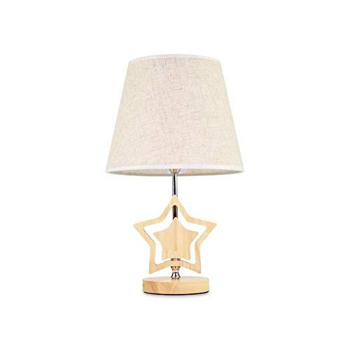 Lámpara de escritorio de dormitorios Lámpara de mesa habitación de los niños lámpara de cabecera romántica creativa simple lámpara de mesa moderna Lámpara de mesa de noche Inicio moda de la boda Lámpa