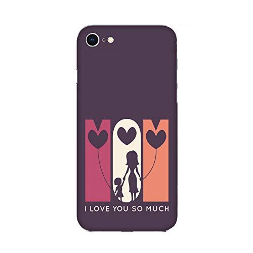 Funda iPhone 6 plus Carcasa Apple iPhone 6 plus Día de la madre te quiero mucho mamá / Cubierta Imprimir también en los lados / Cover Antideslizante Antideslizante Antiarañazos Resistente a golpes